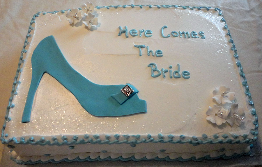 bridal shower cake designs